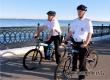В Саратове появились первые полицейские на велосипедах