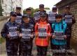 Юные друзья полиции приняли участие в рейде по людным местам