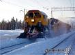 Снегопад не повлиял на работу железной дороги в Саратовской области