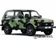 АвтоВАЗ выпустил брутальную камуфлированную версию Lada 4х4