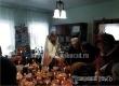 Отец Максим Васильев освятил пасхальную трапезу в селе Барановка
