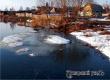 За сутки уровень воды в Медведице поднялся более чем на полметра