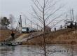 Подтоплен низководный мост в Красавке, начала работу лодочная переправа