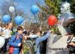 В Аткарске в День космонавтики у памятника Гагарину прошел флешмоб. Видео