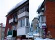 Аткарчане рассказали об угрожающей глыбе снега на крыше многоэтажки