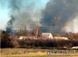 Испугавший аткарчан столб дыма вызвал горящий камыш в районе Романцова сада