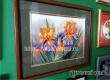 В музее открылась выставка вышитых бисером и крестиком картин