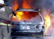 Ночной пожар в Барановке уничтожил гараж с автомобилем Granta