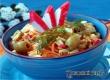 Салат с крабовыми палочками, оливками и морковью – рецепт дня «АУ»