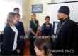 Священник провел в КЦСОН беседу со школьниками о Пасхе