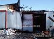В Аткарске ночью из-за аварийной электропроводки сгорел гараж