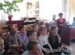 Первоклассники в библиотеке узнали о Гагарине и его пути к звездам