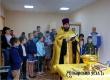 Отец Дионисий освятил новый класс клуба «Русичи»