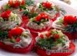 Помидоры с творожным кремом и овощами – рецепт дня от «АУ»