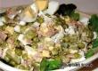 Салат с тунцом и горошком «Азов» – рецепт дня от «Уезда»