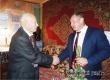 Виктор Елин поздравил с 95-летием участника Курской битвы