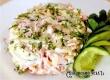 Праздничный салат с сыром и ветчиной – рецепт дня от «АУ»
