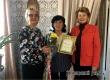 КЦСОН и «Бабушкин патруль» поздравили с юбилеем Марию Тагунову