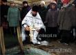 Благочинный Дионисий Елистратов освятил воду в Дегтярном роднике. Видео