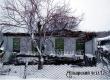 В Озерном сгорел пустующий жилой дом с пристройкой