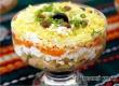 Рецепт дня от «Уезда»: салат с копченой курицей и чесночным соусом