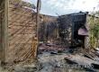 В Земляных Хуторах сгорела баня из-за неосторожного обращения с огнем