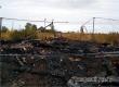 В Большой Осиновке полностью сгорел бесхозный частный дом