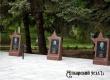 Неизвестные вывернули фонарики у Мемориала Славы в Аткарске