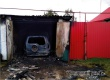 В гараже на улице Бубнова сгорела автомашина Шевроле Нива