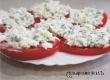 Помидоры с сырком, чесноком и майонезом – рецепт дня от «Уезда»