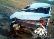 Два человека пострадали в вылетевшем с трассы у Аткарска ВАЗ-2115