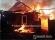 Два дома и гараж пострадали при крупном пожаре на улице Карла Маркса