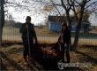 Работники культуры провели в селе Даниловка субботник