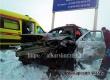 У поворота на Аткарск произошло ДТП с участием такси. Фото