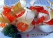 Кораблики из яиц с икрой – рецепт дня от «Аткарского уезда»