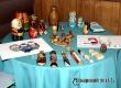 В музее работает выставка традиционных русских и вышитых аткарчанкой матрешек