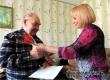 Сотрудники Аткарского КЦСОН поздравили с 90-летием балалаечника