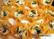 Сырные тарталетки с огурцом и креветками – рецепт дня от «АУ»