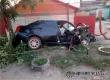 В Аткарске двое мужчин пострадали при столкновении авто с деревом