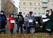 В Аткарске прошел флешмоб в рамках акции Если любишь – пристегни!