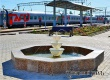Новый фонтан обустроен вблизи железнодорожного вокзала Аткарска