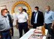 Валерий Радаев посетил новый цех Аткарской птицефабрики
