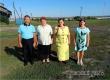 Сельские артисты выступили с концертом перед тружениками полей
