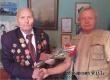 Аткарские ветераны поздравили участника Курской битвы