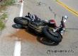 В дорожном происшествии на трассе под Аткарском пострадал мотоциклист