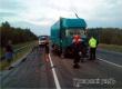 Под Аткарском в ДТП с двумя грузовиками пострадал водитель Renault