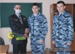 Старшеклассники школы № 1 поздравили участника Афганской войны