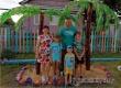 Многодетная семья Булгаковых сделала свой двор похожим на сказку