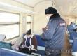 К акции «Электричка здоровья» присоединились сотрудники транспортной полиции