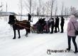 В селе Лопуховка на Масленицу ели блины и катались на лошади